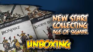 Start Boxes Age Of Sigmar Start Collecting Boxes First Look Review Youtube
