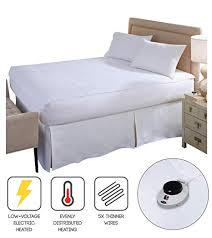 Image Unavailable Amazon.com: Perfect Fit SoftHeat Smart Heated Electric Mattress Pad