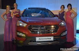 new car release in malaysia 2013Hyundai Santa Fe 2013 launched in Malaysia  from RM163888