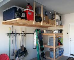 suspended garage shelves ceiling garage storage shelves hanging garage shelves diy suspended garage shelves