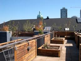 Small Picture Wooden Planter Box For Plants In Design Concept Roof Garden