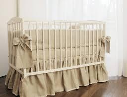 newest linen crib bedding gathered skirt and 4 side per linen linen crib skirt