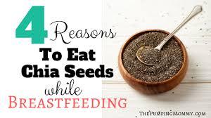 eat chia seeds while tfeeding