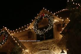 large lighted wreaths outdoor with lights happy holidays for decorations ideas doors front door swags design with alluring baskets and