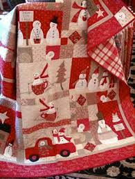 174 Christmas Quilt Patterns and Projects | Christmas quilt ... & Merry Merry Snowman pattern, love it! by Bunny Hill Designs May have to  make a snowman quilt yet Adamdwight.com