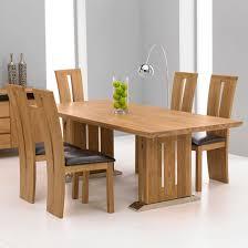 Cagliari Oak Dining Table And <b>6</b> Arizona <b>Dining Chairs</b> | Dining ...