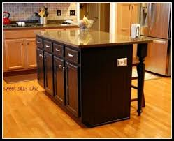 Creativity Simple Kitchen With Island Homemade Islands Shelterness For Modern Design