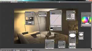 Internal Lighting System Blender Tutorial Interior Lighting With Artificial Lights