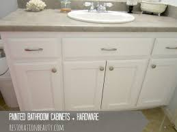 Painted Cabis White Kitchen And Bathroom Cabi Hardware Cabinet Companies Cabinets Lowes