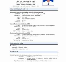 Attractive Best Resume For Freshers Cse Pictures Documentation