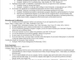 Updated Resume New 2017 Resume Format And Cv Samples