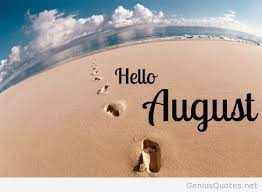 summer image hello august image