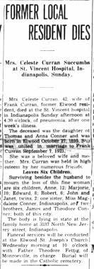 1937 Conner (Curran) Celeste - Obit - Newspapers.com
