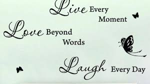 live love laugh wall decor unusual ideas stickers decorations wood decals large print metal set