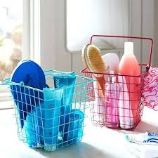 dorm room shower caddy shower for college adorable teen coated wire shower pool at pottery barn dorm room shower caddy shower