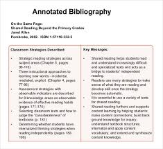 Example of annotated bibliography mla format   Personal statement