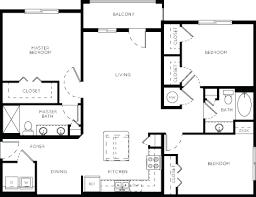 luxury apartment floor plans 3 bedroom. Plain Bedroom 33 West Luxury 3 Bedroom Apartment  And Floor Plans