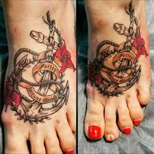 тату якоря 65 фото татуировок на разных частях тела