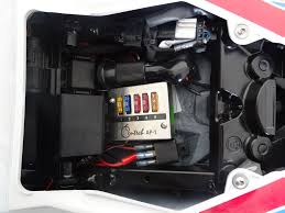 fuse box battery tender powered tail bag bmw s1000rr forums per many requests this is the wiring diagram for the fuse box what you need is fuse box the diagram says blue sea but that was for my vfr