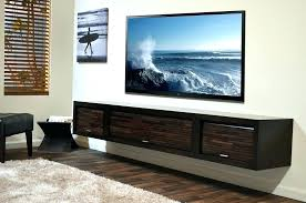 floating wall tv stand large size of wall mounted floating stand entertainment center units stunning media