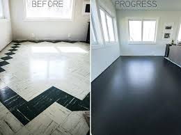 painted floor bedroom painted hardwood