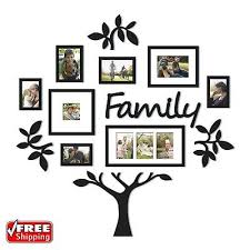 13 piece picture photo frame set family tree collage gallery wall art decor on tree photo collage wall art with 13 piece picture photo frame set family tree collage gallery wall