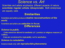 Image result for artists vs scientists