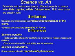 Image result for artists vs scientists