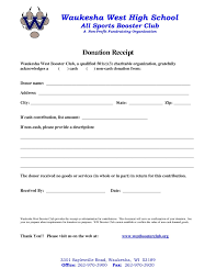 donation reciept letter donation receipt letter template collection letter templates