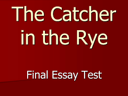 compare and contrast essay examples esl dissertation conclusion comparing catcher in the rye and the bell jar international