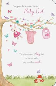 Congrats On Baby Girl Card Under Fontanacountryinn Com