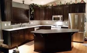 gel stain kitchen cabinets:  kitchen makeover in java gel stain gel stain kitchen cabinets java remarkable gel