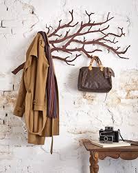 decorative coat rack. Exellent Decorative Hangups U0026 Baggage Decorative Coat Racks Using A Branch Throughout Decorative Coat Rack