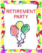 Retirement Invitations Free Retirement Party Free Printable Party Invitations