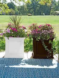 square planters  self watering square planter  gardenerscom