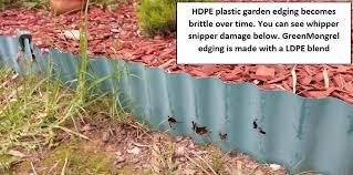 plastic garden edging recycled