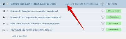 post event survey questions template create post event surveys for all types of feedback poll everywhere