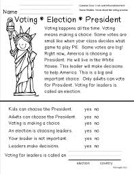 Voting Worksheets For Kids Worksheets for all | Download and Share ...
