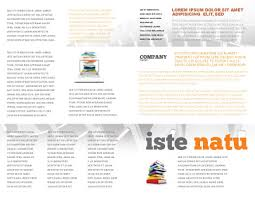 book publishing templates book publishing brochure template design and layout download now