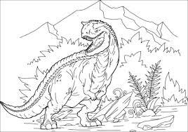 Carnotaurus Kleurplaat Gratis Kleurplaten Printen