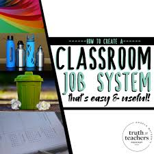 First Grade Job Chart Ideas For Classroom Jobs Classroom Helper Systems