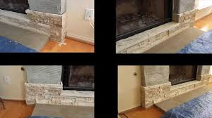 Stone Veneer Fireplace Pictures Image Ideas Stacked Pics Photos Stacked Stone Veneer Fireplace