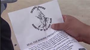 family finds ku klux klan flier in katy yard