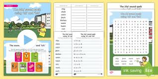 Free interactive exercises to practice online or download as pdf to print. Grade 3 Phonics Ch Tch Spelling Pack Teacher Made
