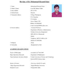 :matrimonial resume format Marriage Resume Format Pdf Resimli How To Make  Biodata Pdf
