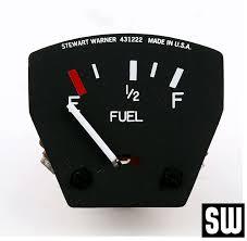 cluster gauges air parts of lock haven fuel quantity stewart warner
