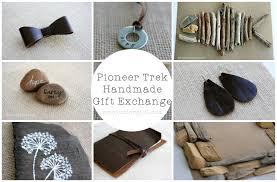 pioneer trek handmade gift exchange activity