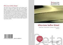 low sulfur deisel