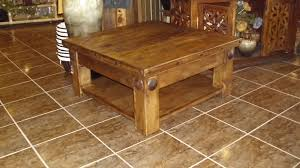 Mexican Pine Coffee Table Mexican Square Solid Pine Coffee Table Birdies Nest Online Store
