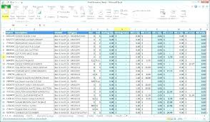 Excel Inventory Tracking Template On Inventory Excel Template Free